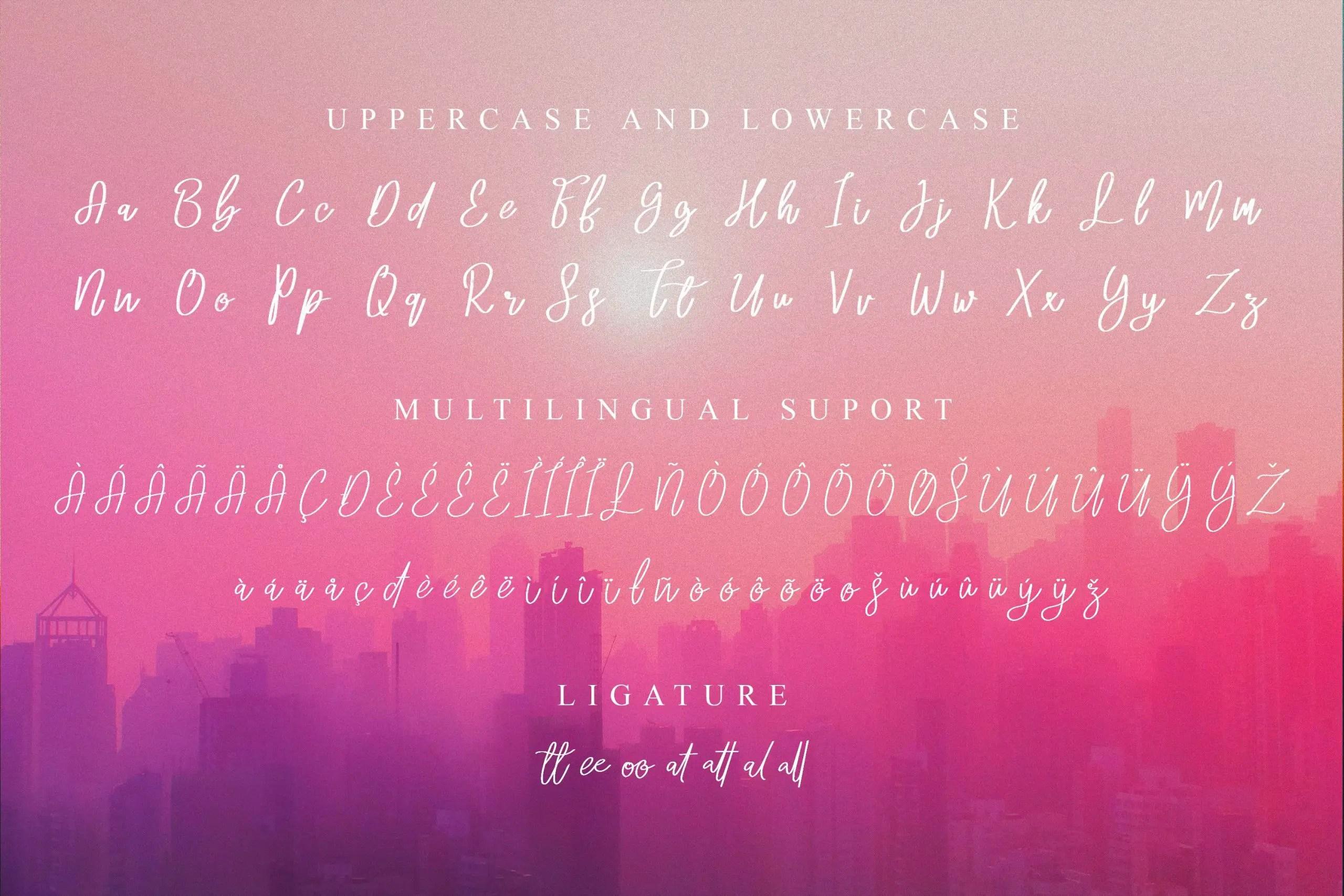 Marida Cole Handwritten Script Font -3