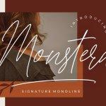 Monstera Font