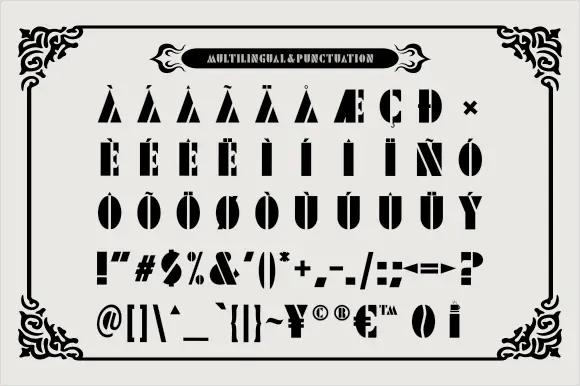 Ngopi Display Font -3