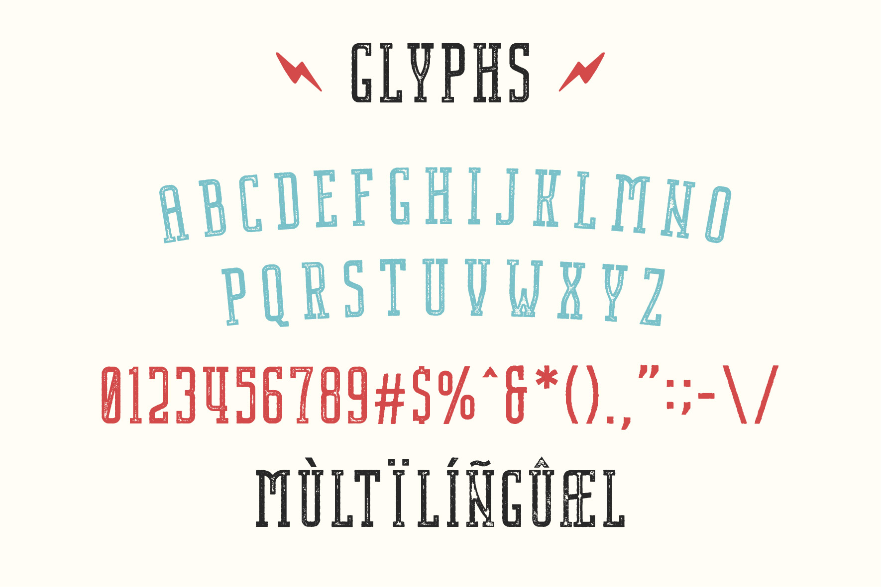 Nordin Slab Serif Font -3