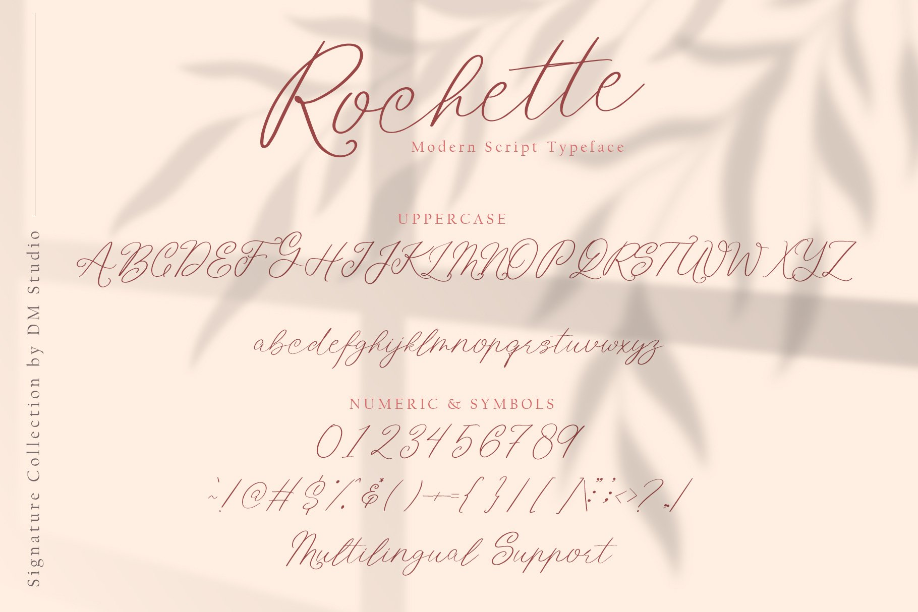 Rochette Elegant Signature Font -3