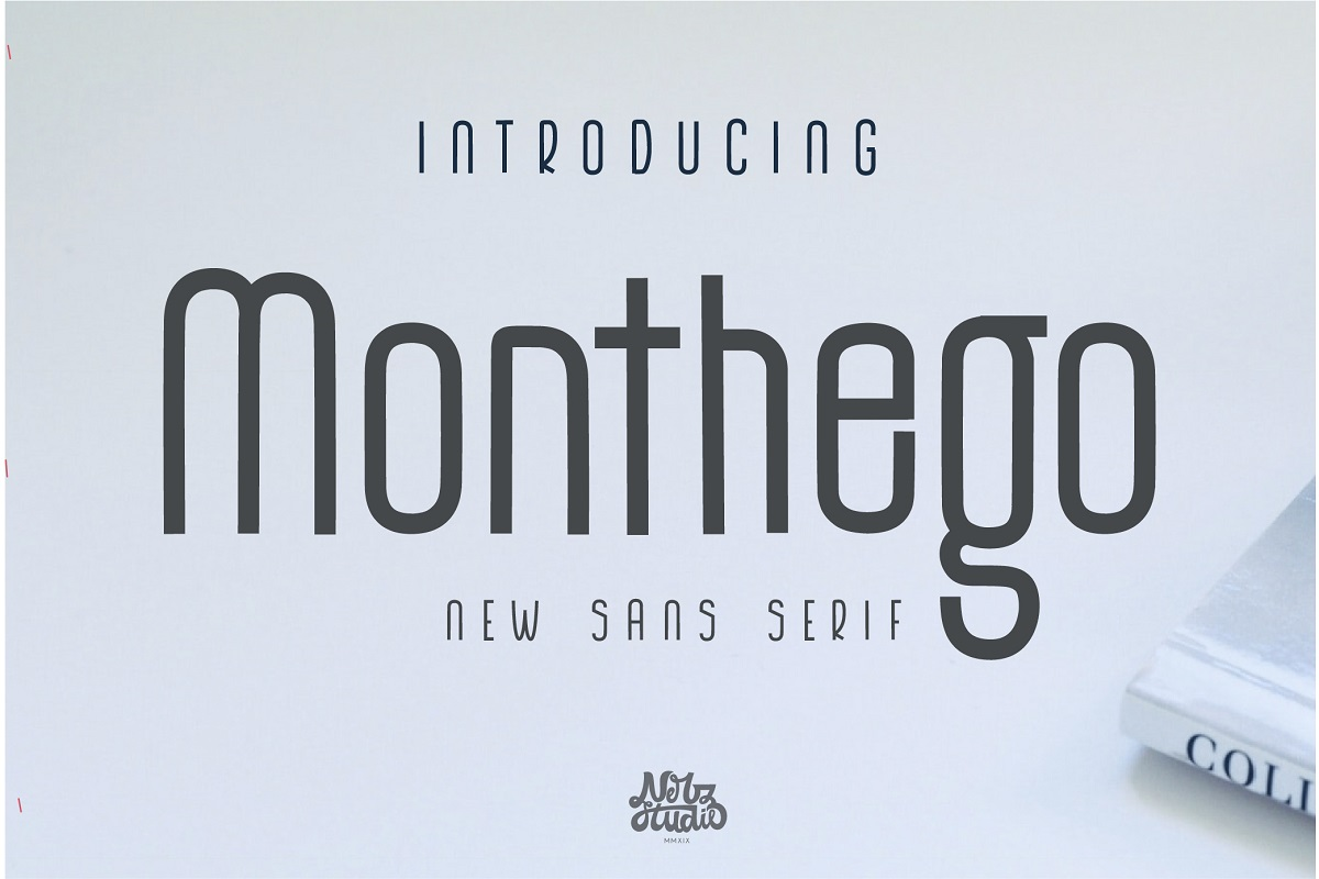 The Monthego Sans Serif Font -1