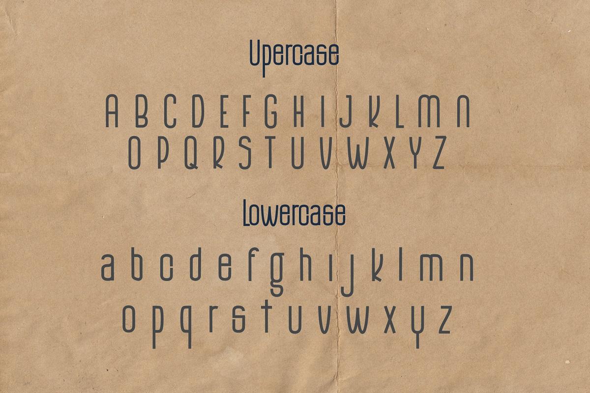 The Monthego Sans Serif Font -2