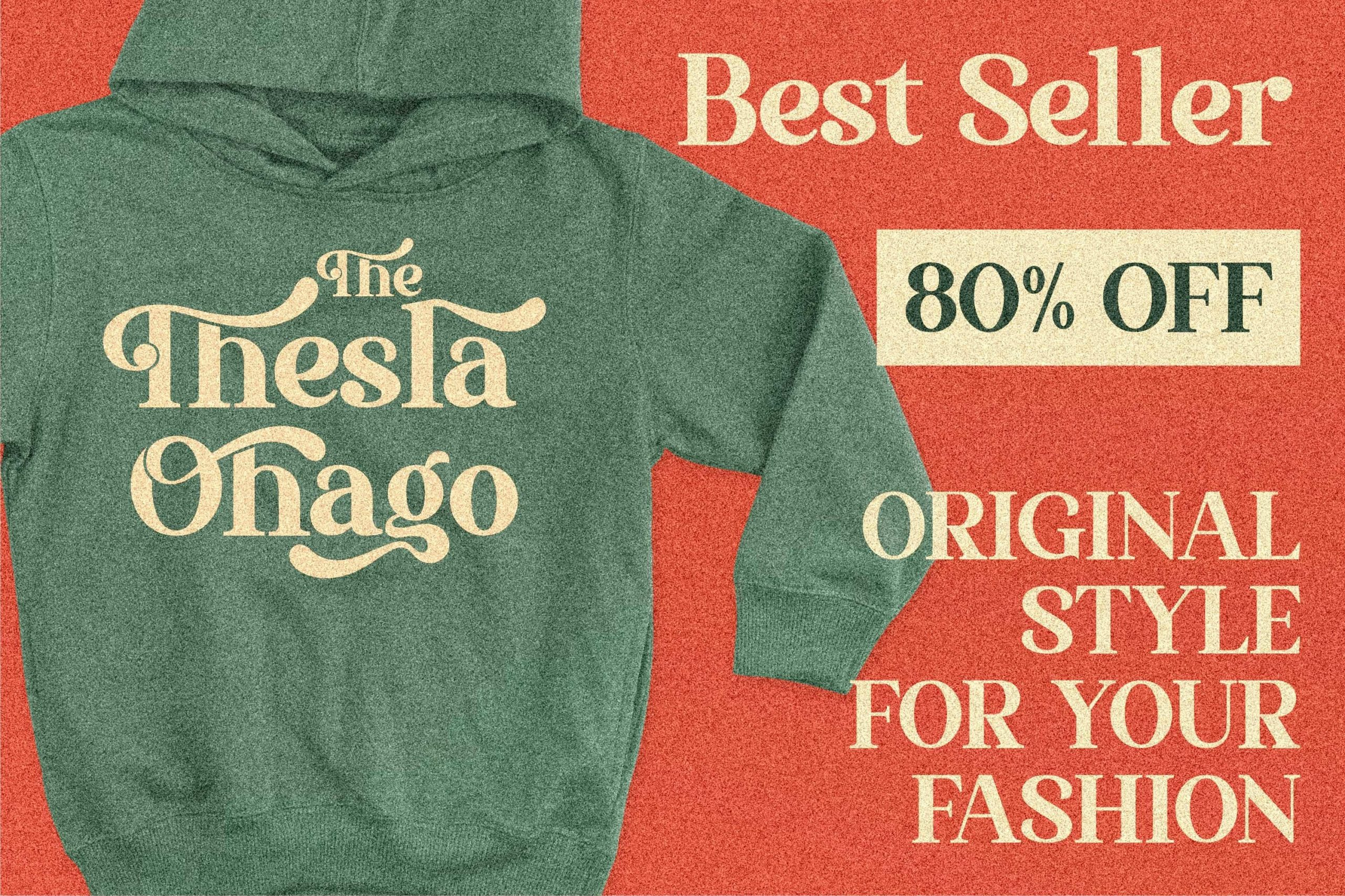 The Thesla Ohago Luxury Serif Font -2
