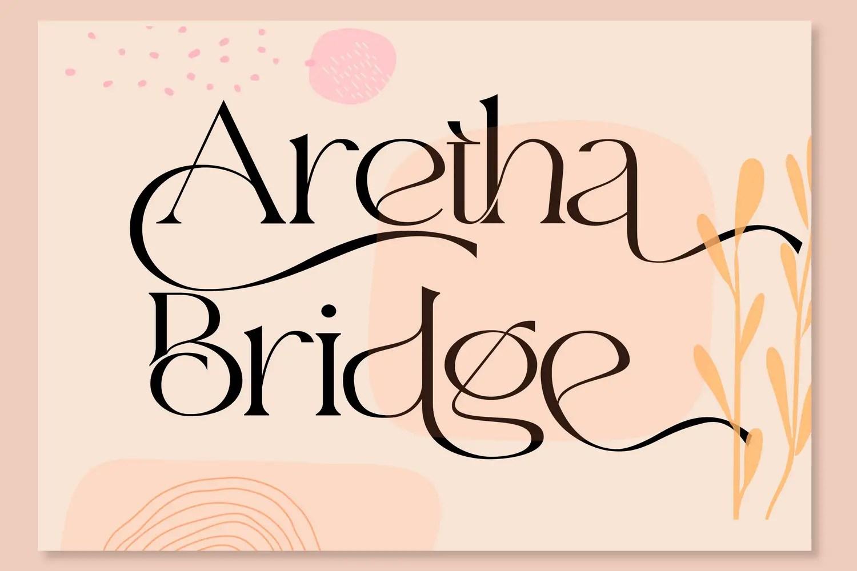 aretha-bridge-font-1