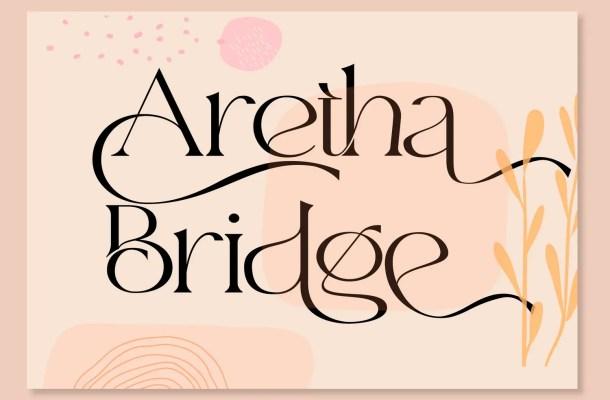 Aretha Bridge Font