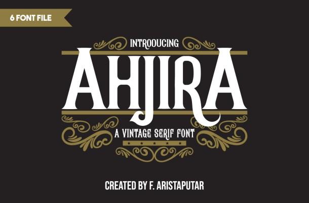 Ahjira Font