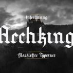 Archking Typeface