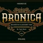 Aronica Font