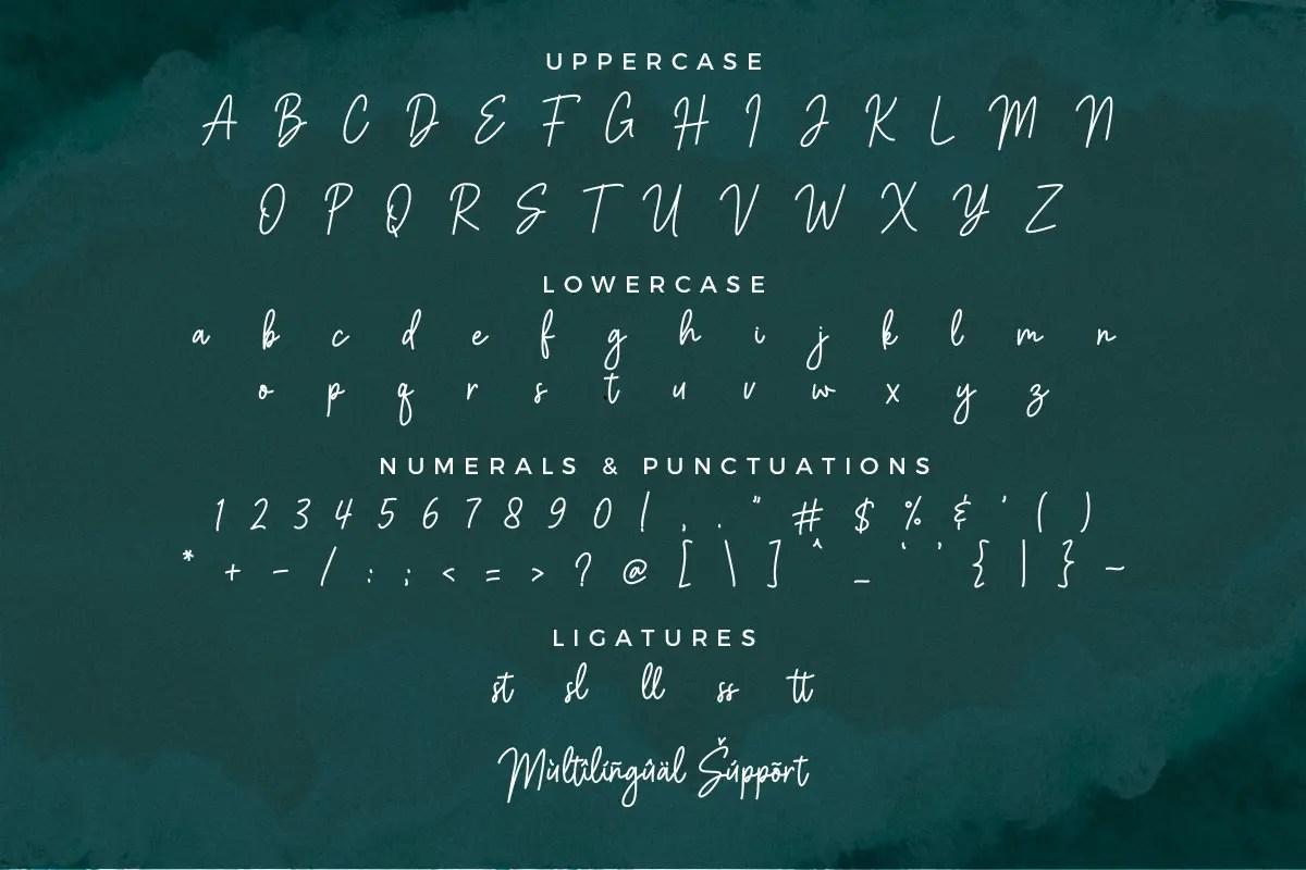 Balistany Stylish Handwritten Font -3
