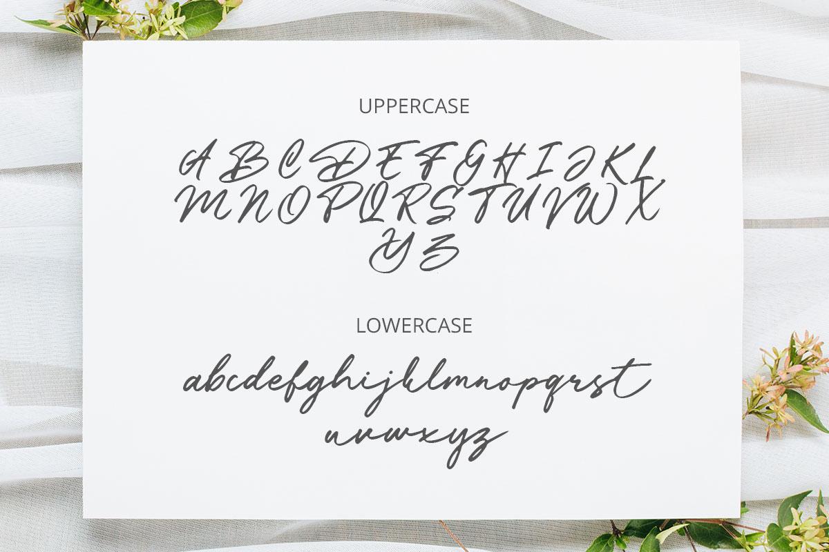 Battossa Handwritten Font -3