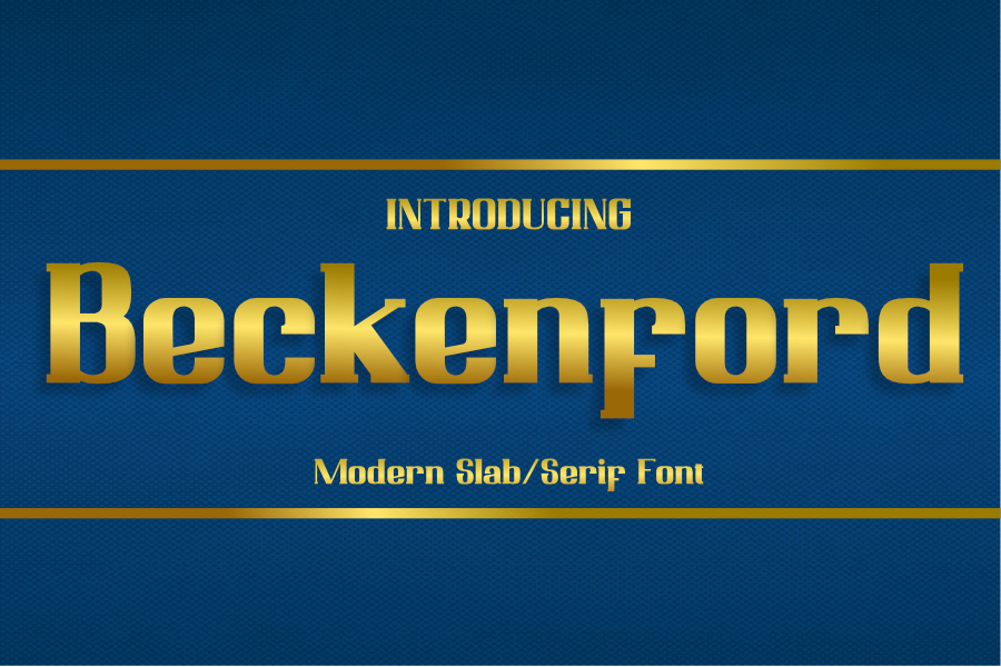 Beckenford presentation