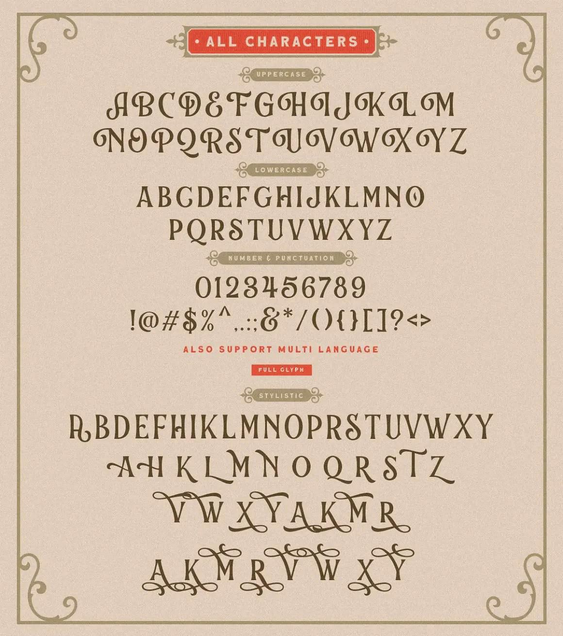Chord Brights Display Typeface -3