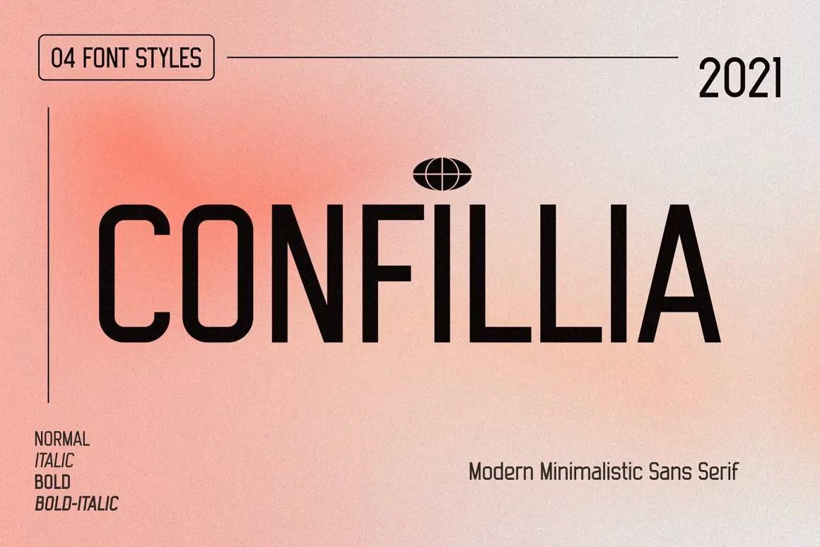 Confillia Sans Serif Font -1