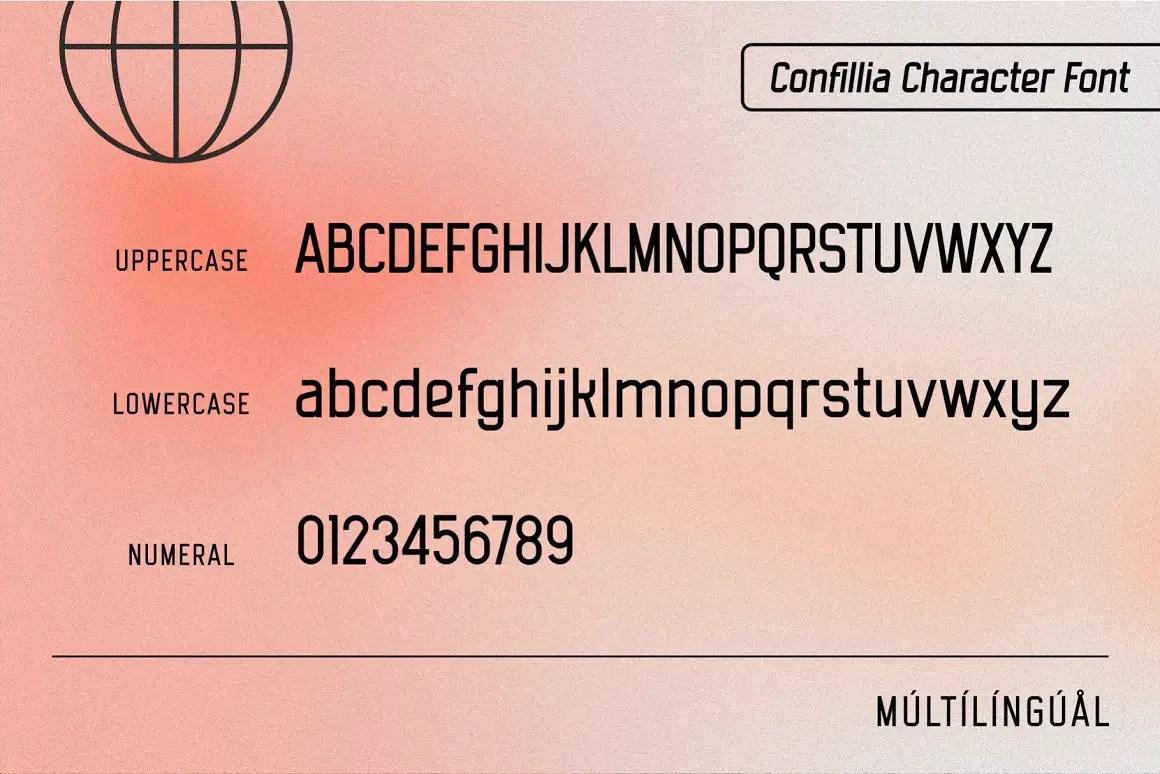 Confillia Sans Serif Font -3