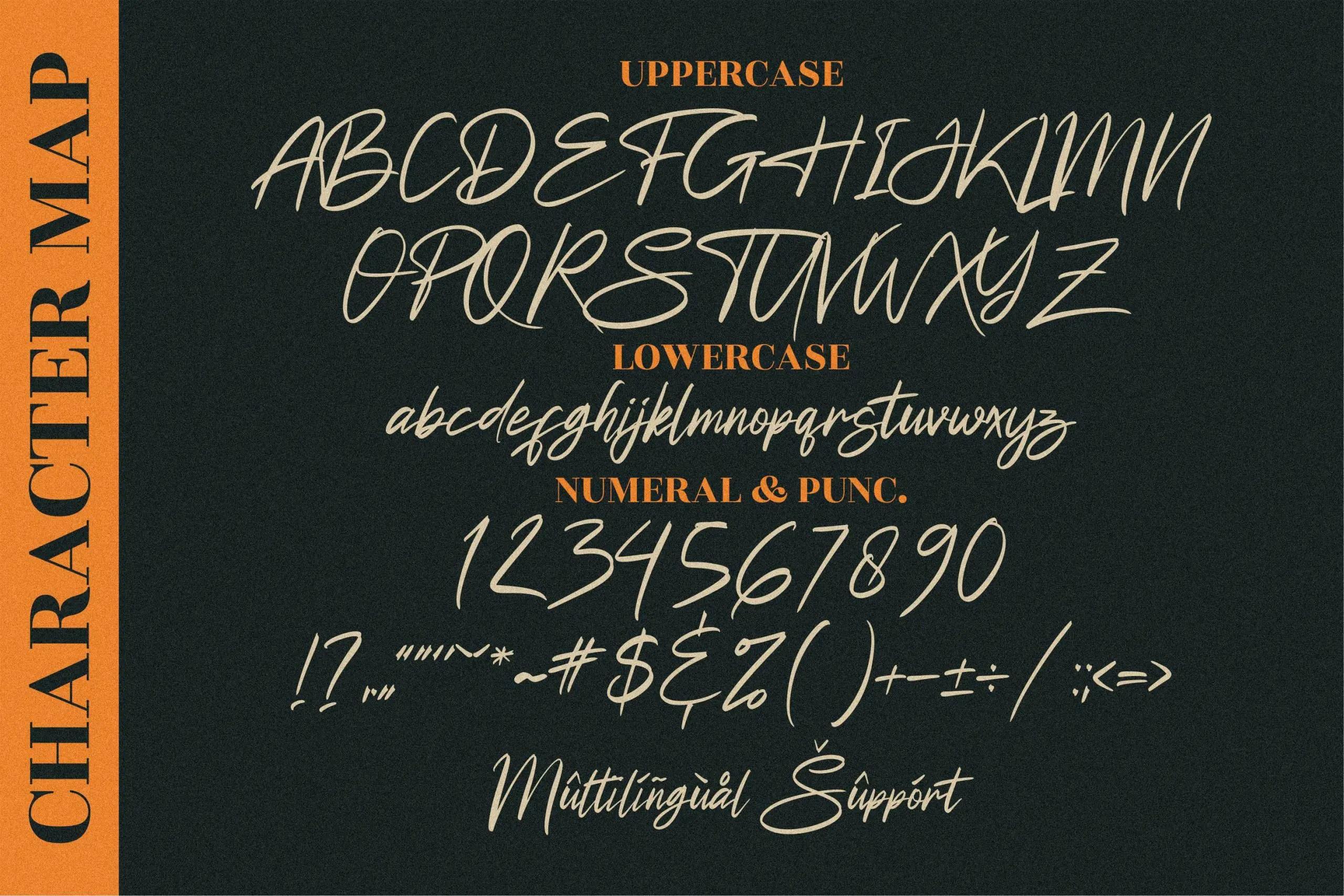 Futuristic Signature Handwritten Font -3