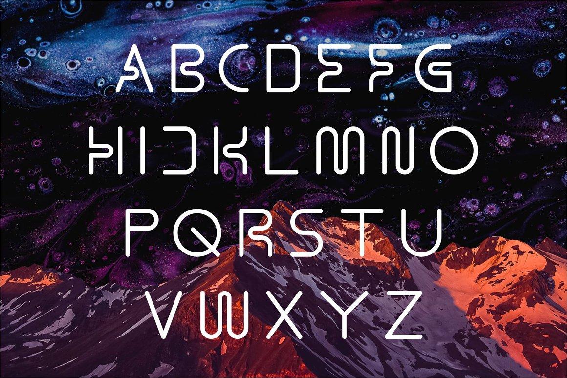 Gamero Modern Sans Serif Font -2