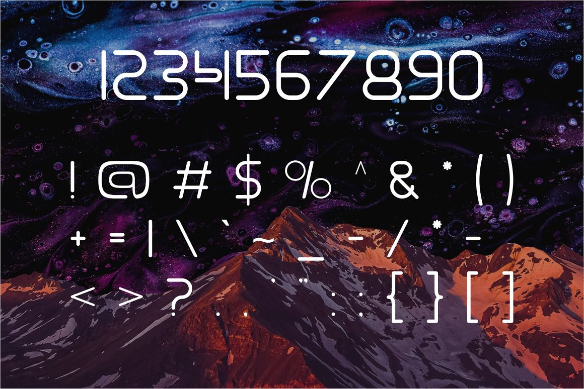 Gamero Modern Sans Serif Font -3