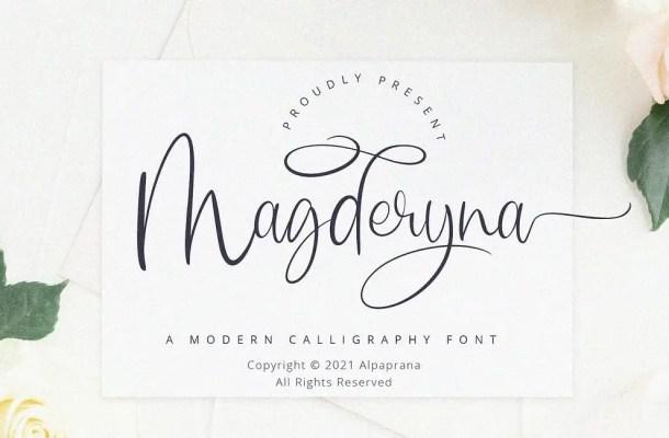 Magderyna Font