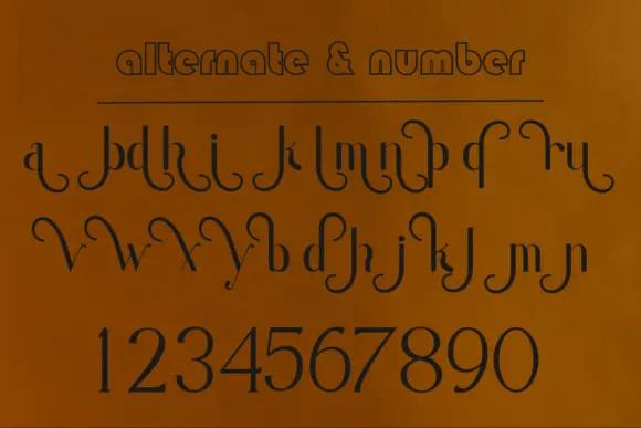 Moondana Beautiful Sans Serif Font -3