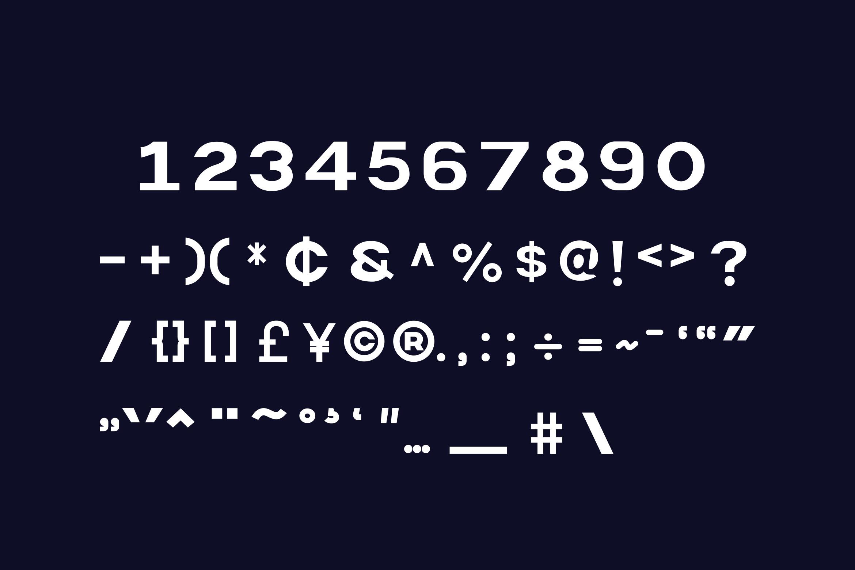 Polaris Sans Serif Font -3
