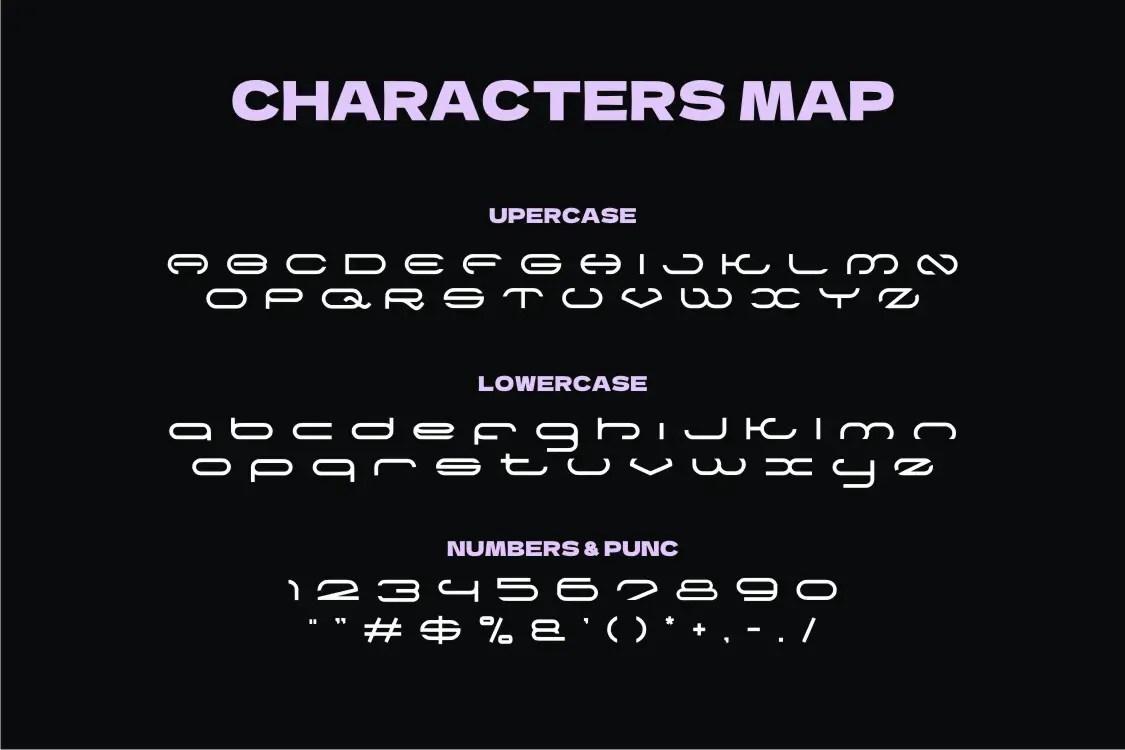 Racqo Display Font -3