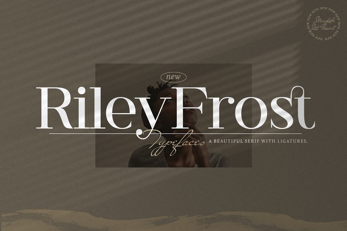 Riley Frost Casual Serif Font -1