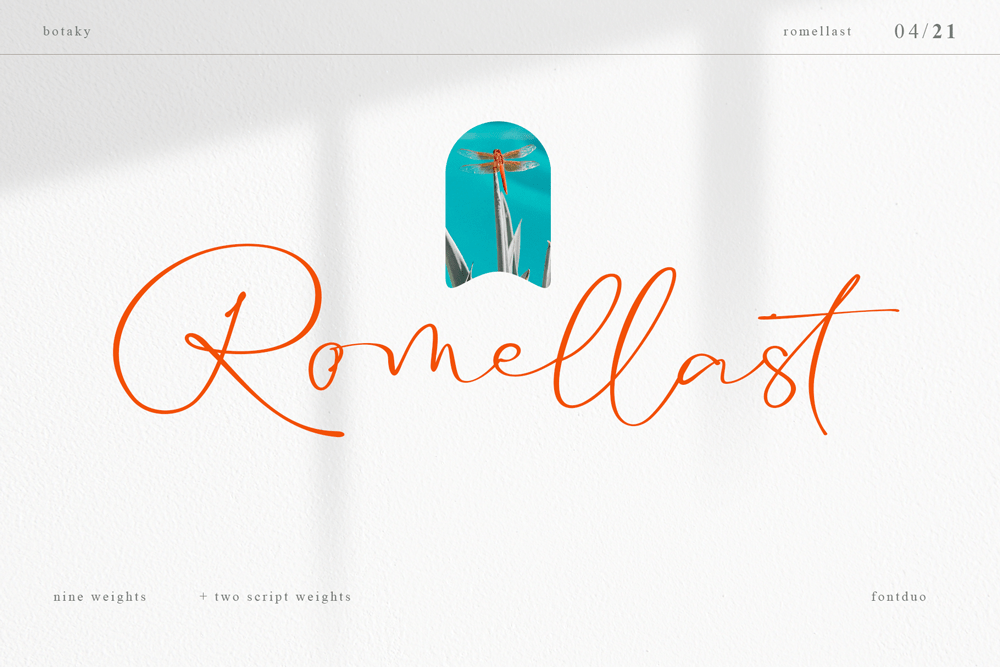 Romellast Handwritten Font -1
