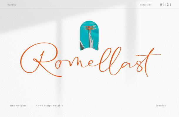 Romellast Font