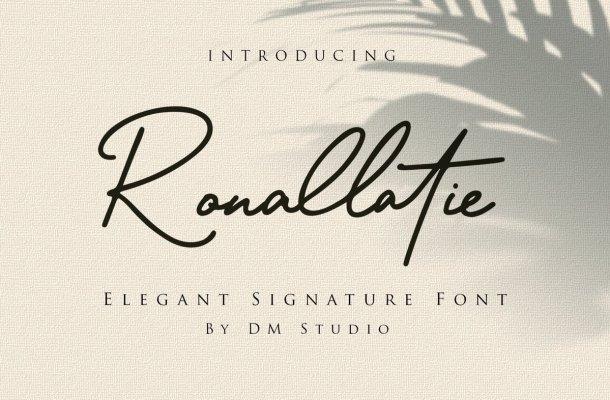 Ronallatie Font