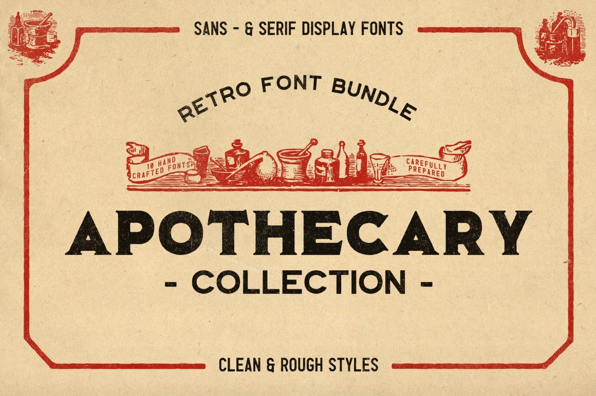 The Apothecary Collection Display Font -1