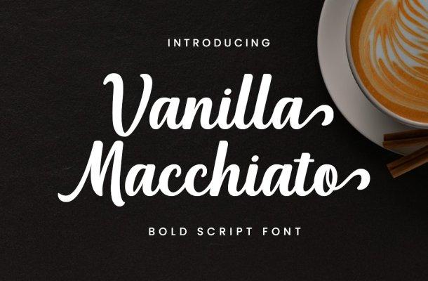 Vanilla Macchiato Font