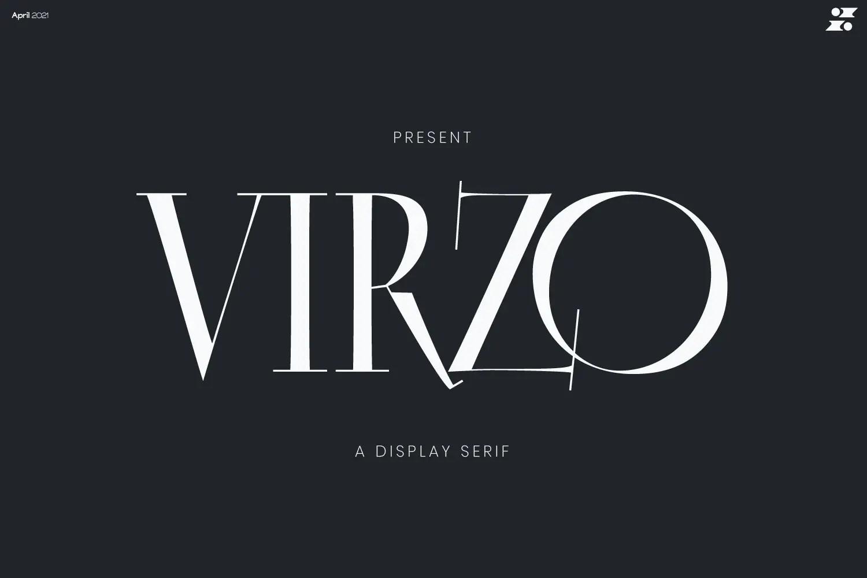 Virzo Serif Font -1