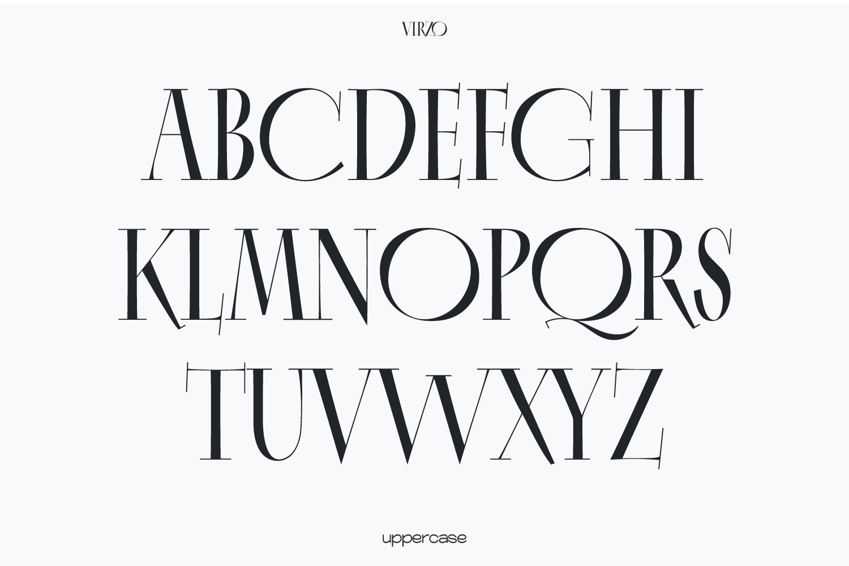 Virzo Serif Font -2