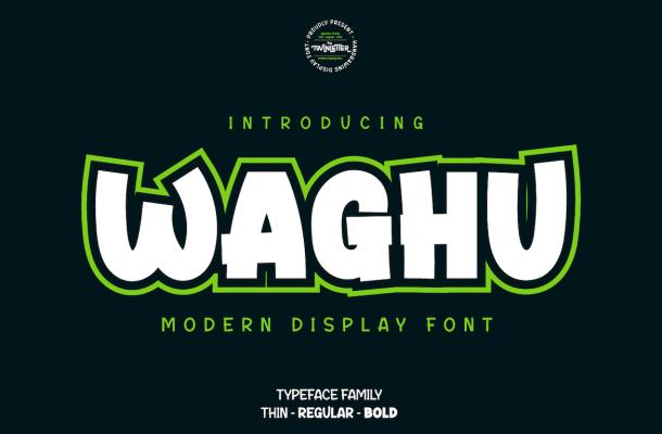 Waghu Font Family