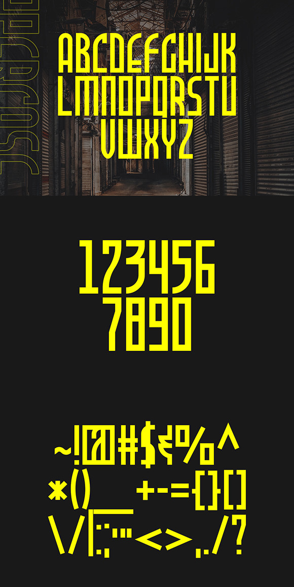 Allience Bold Display Font -3