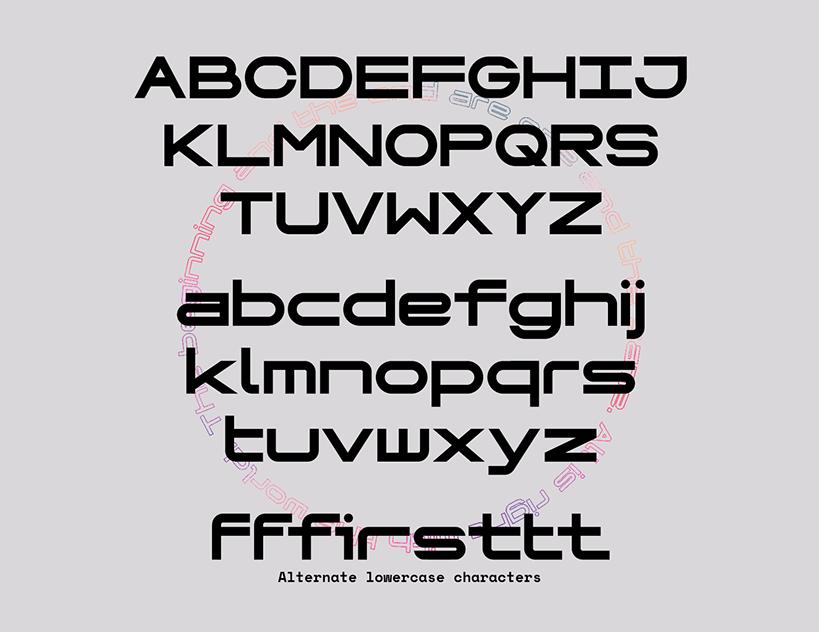 Genesys Bold Display Font -2