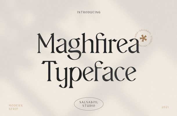 Maghfirea Font
