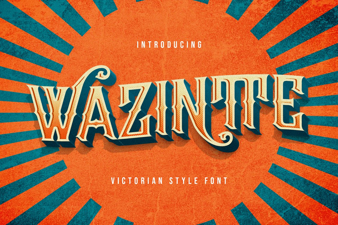 Wazintte Victorian Style Font -1