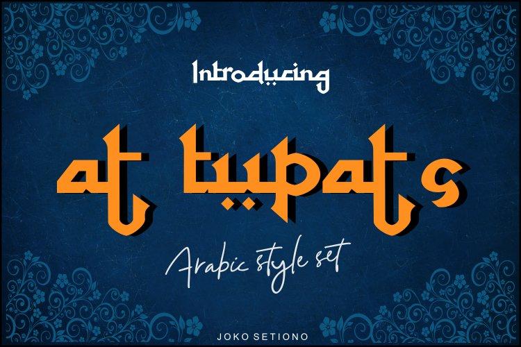 At Tupats Arabic Stalys Font -1