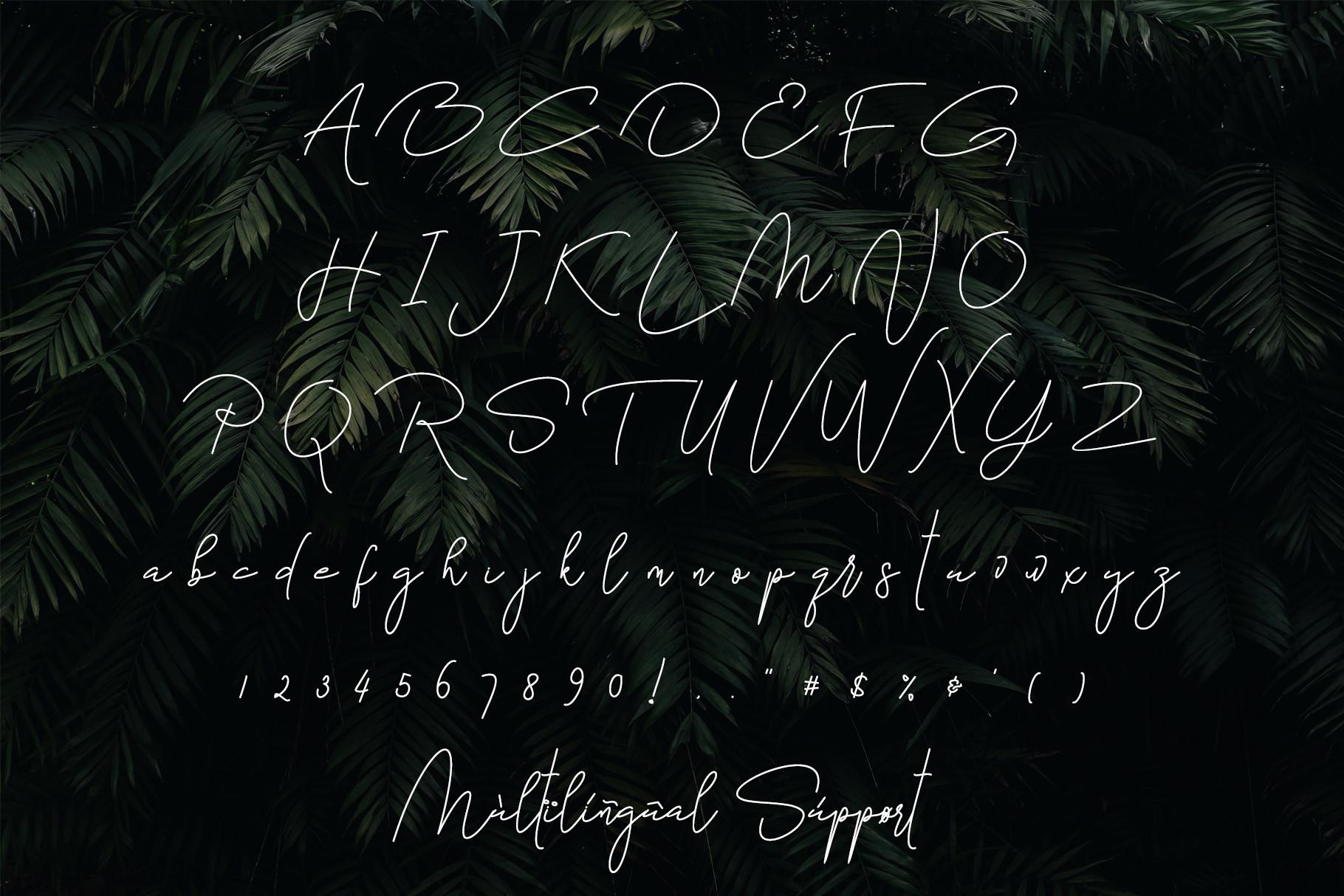 Bettari Beautiful Handwritten Font -3