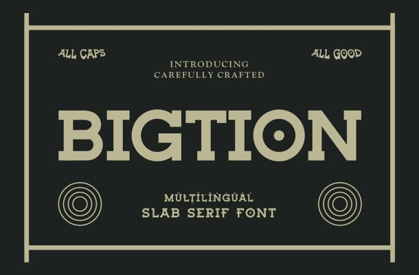 Bigtion Font