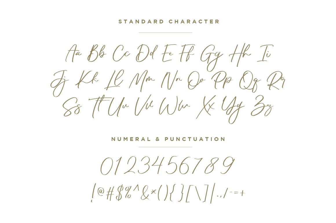 Black Pearl script serif Font Duo -2