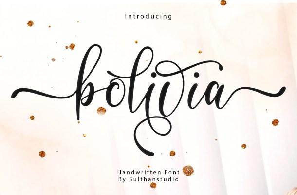 Bolivia Font