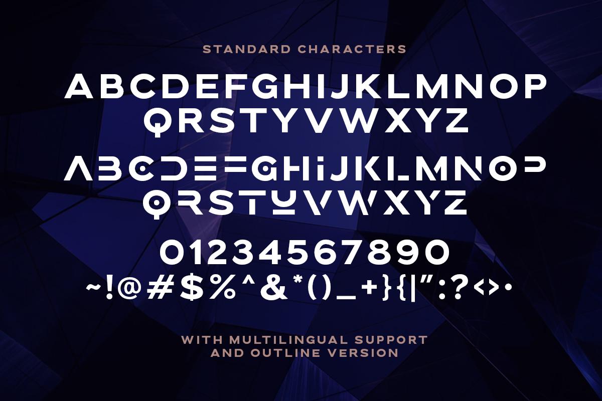 Brolink Modern Display Font -3