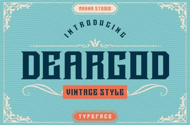 Deargod Font