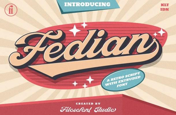 Fedian Font
