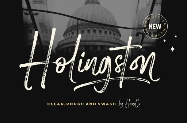 Holingston Font Family