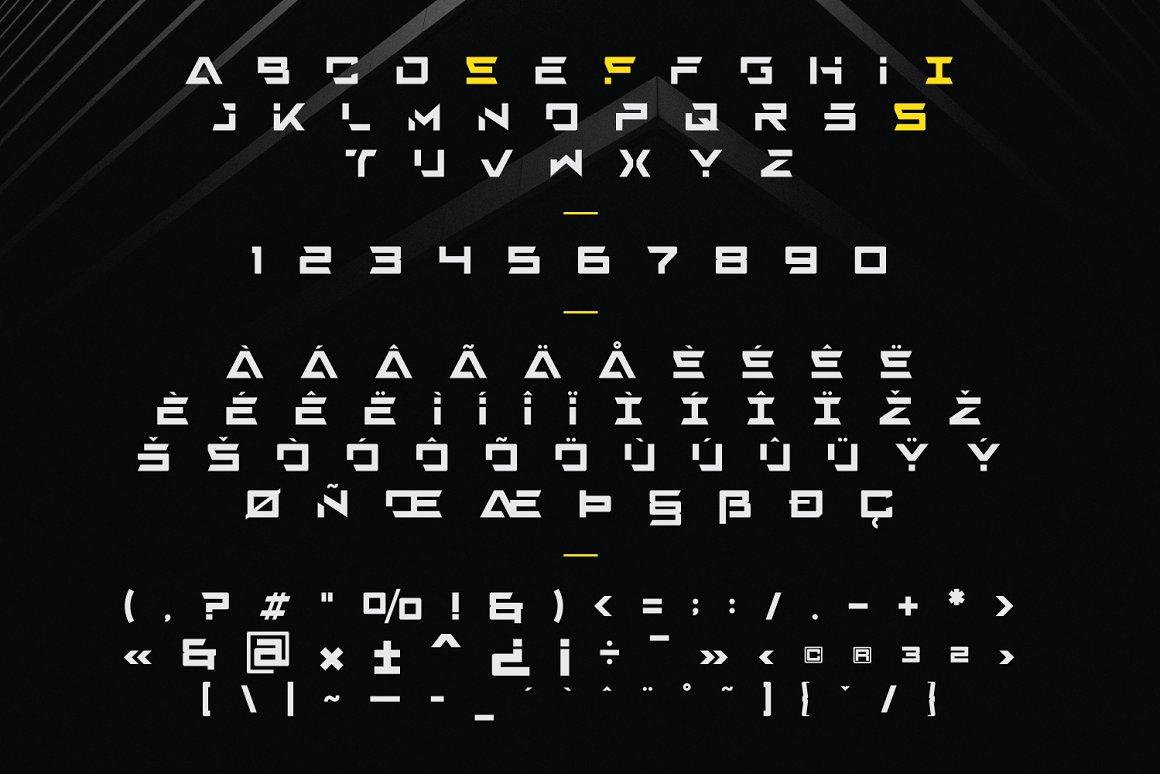 Mexon Modern Display Typeface -3