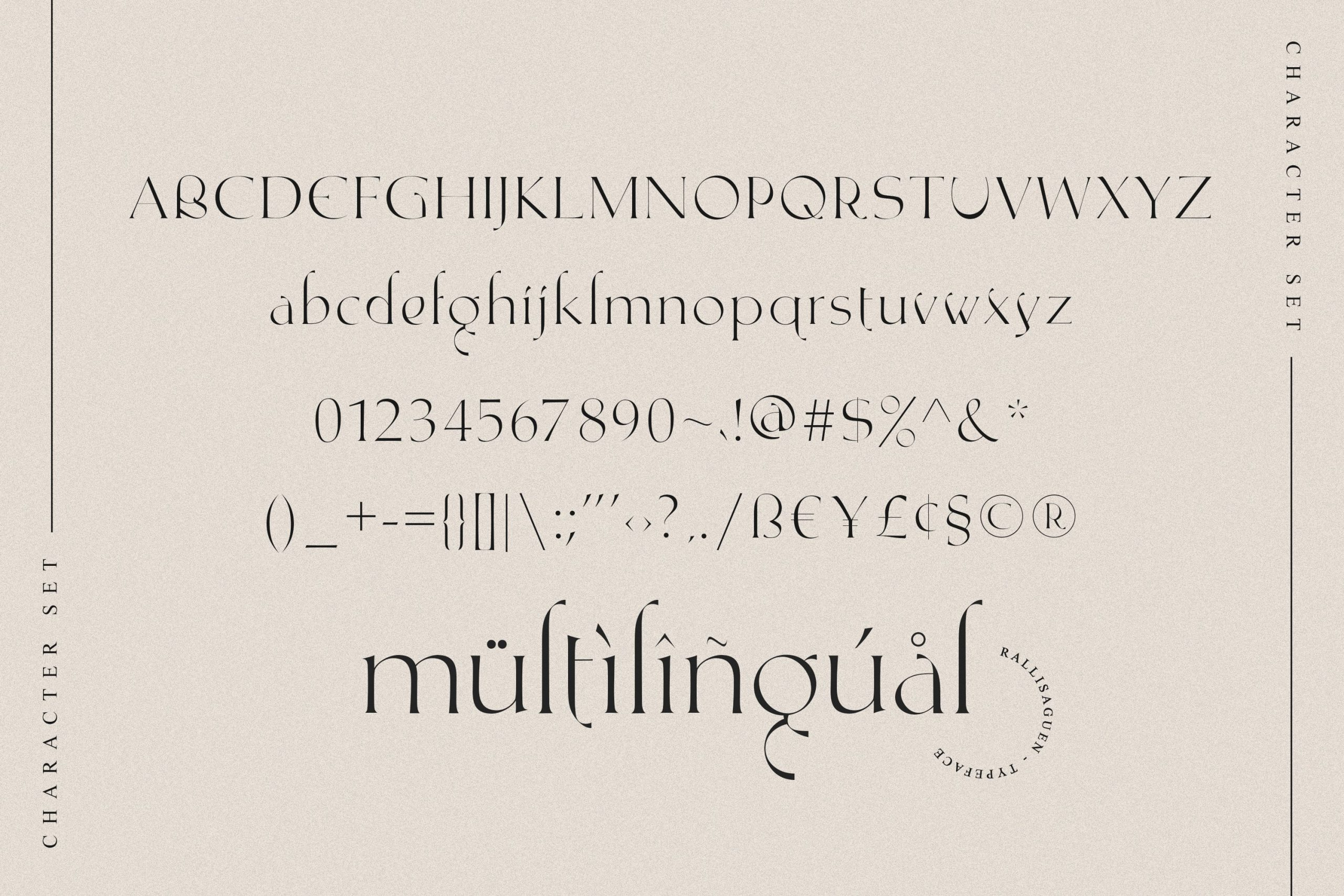 RallisaguenModern Serif Typeface -3